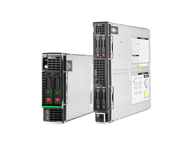 Блейд-серверы HP ProLiant