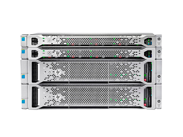 Стоечные серверы HP Proliant